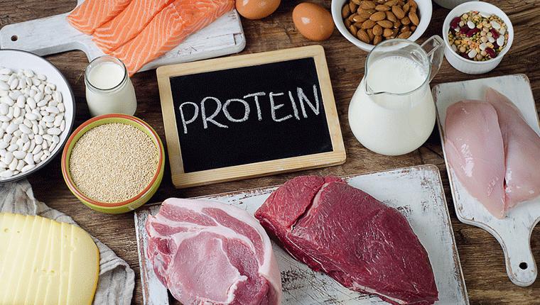 プロテインや具体的な食事内容