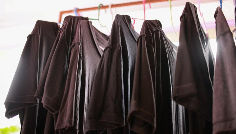 加圧シャツを長持ちさせる脱水と乾燥方法