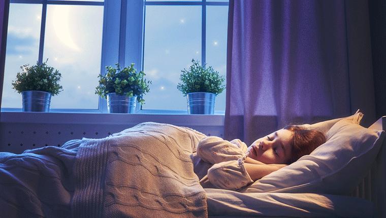 睡眠中はしっかり体を休ませよう